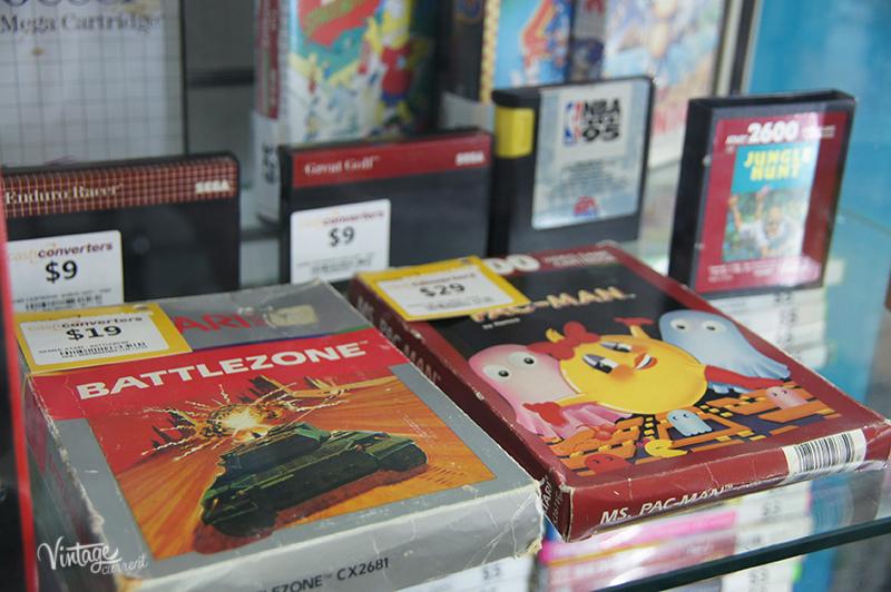 Cash Converters vintage video games