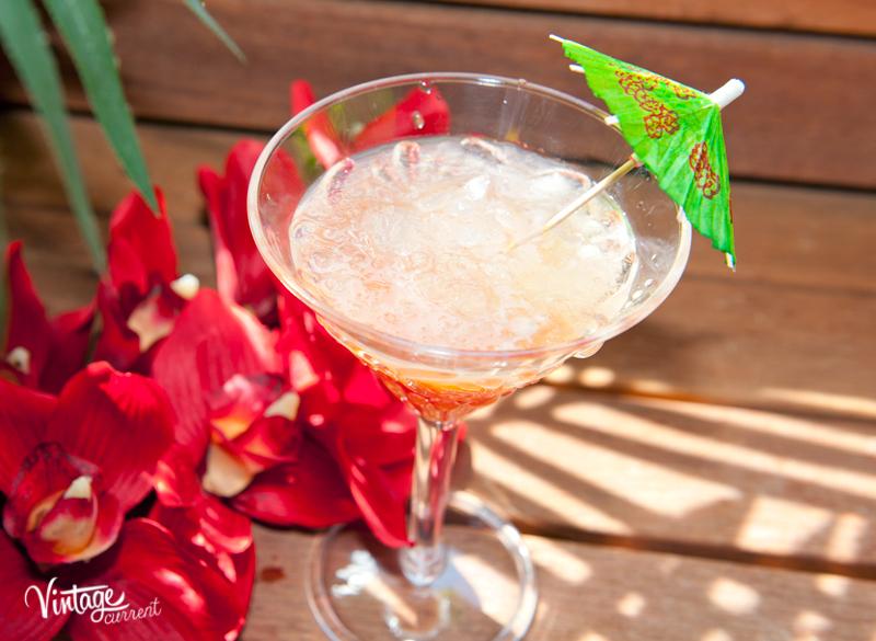 Papaya Pleasures summer cocktail recipie