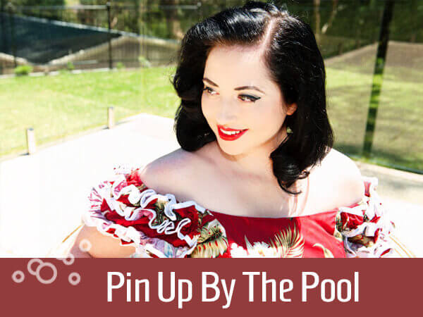 Pin Up By The Pool title