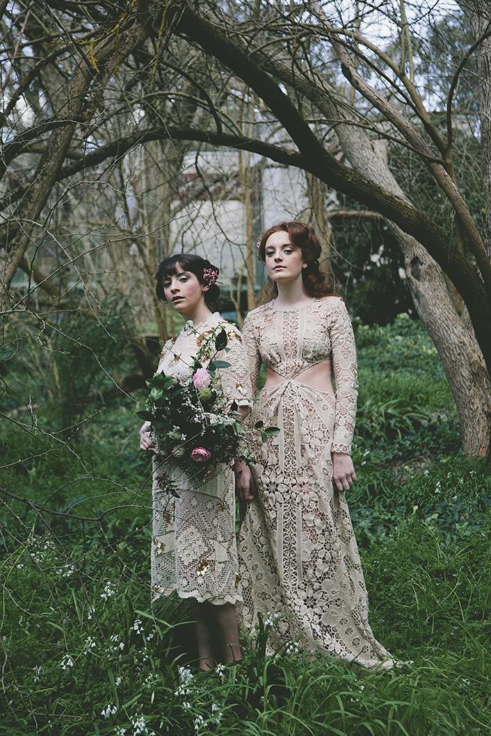 Vintage bridal hair makeup styling melbourne