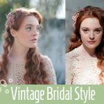 Vintage Bridal hair makeup style mlbourne