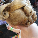 Vintage Hair pin curl pin do candice deville