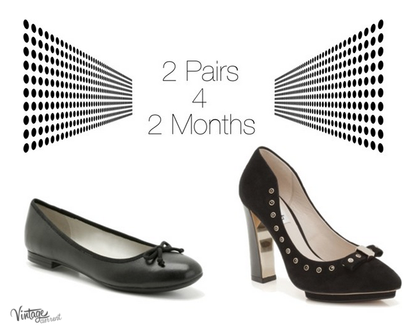 How many shoes to take when travelling for two months