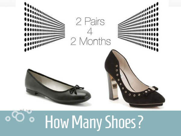 Travel Wardrobe Ideas How Many Pairs Of Shoes Do You Need