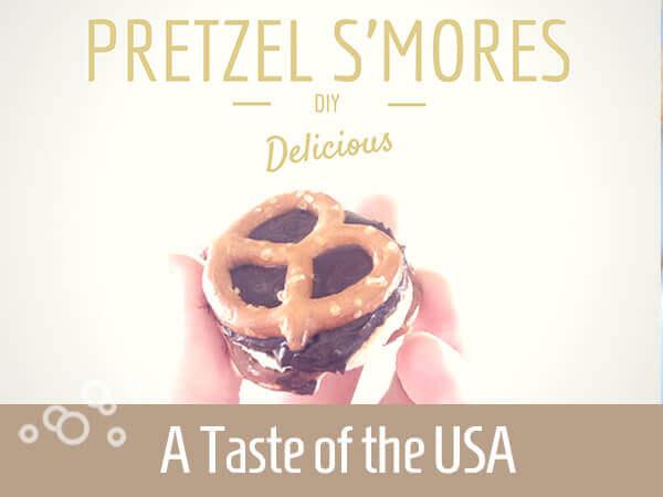 Pretzel s'more recipie