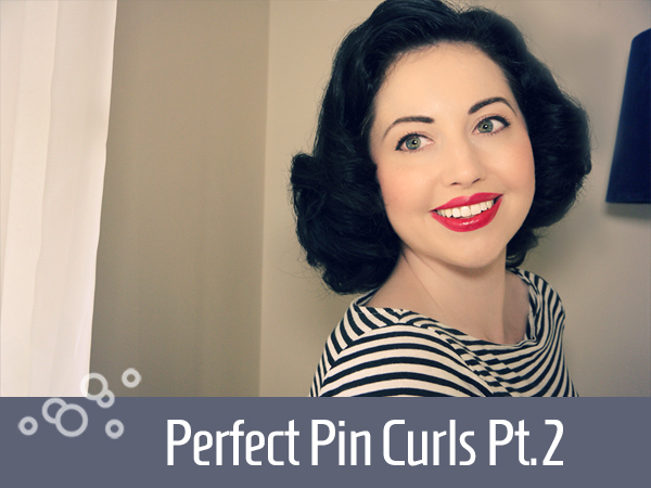 Pin Curls tutorial