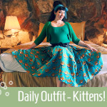 DAily Outfit Kittens Mary Blaire title image