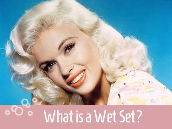 What is a wet set vintage hair