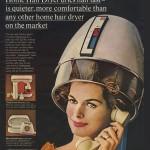 Vintage hair bonnet dryer