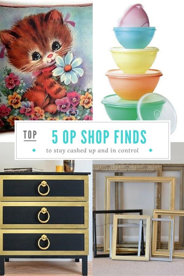 top 5 op shop thrift store finds
