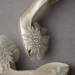 1950s cocktail wedding shoes