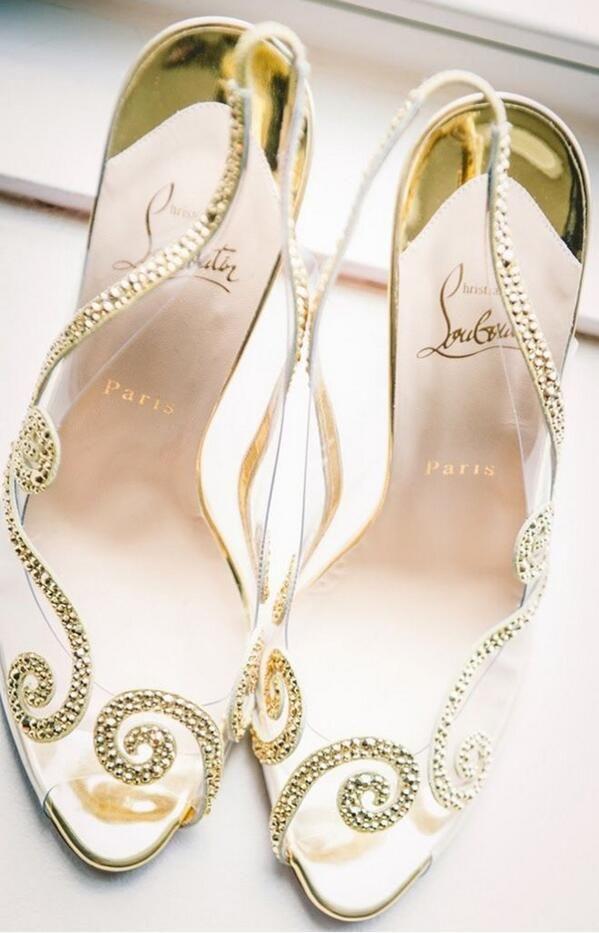 Louboton Bridal shoes
