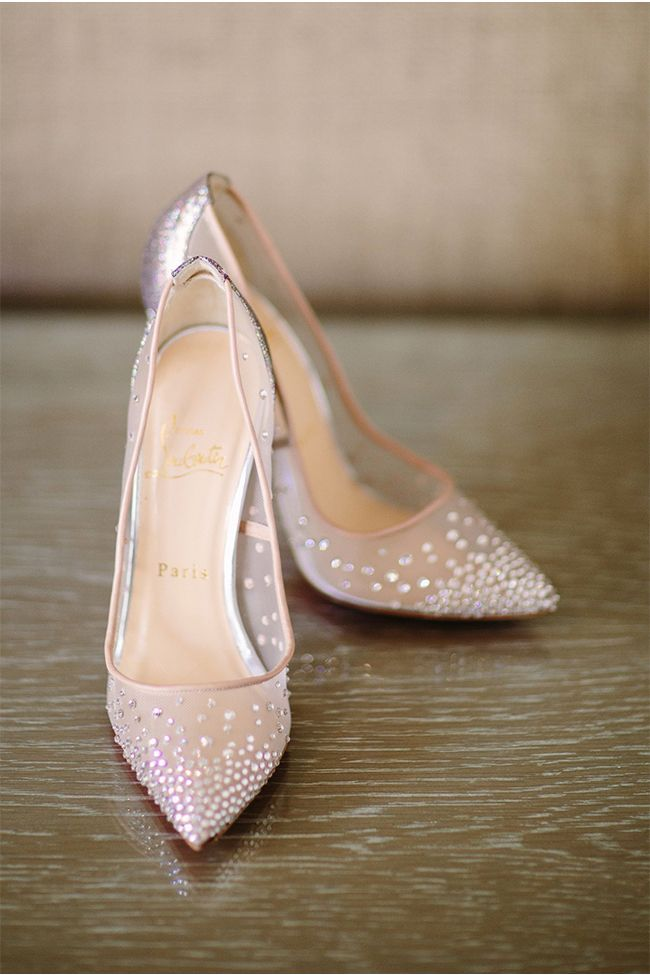 1950s style stiletto wedding shoes