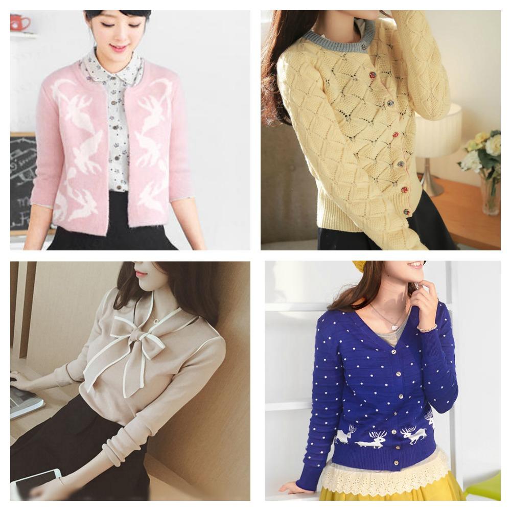 vintage style cardigans knitwear