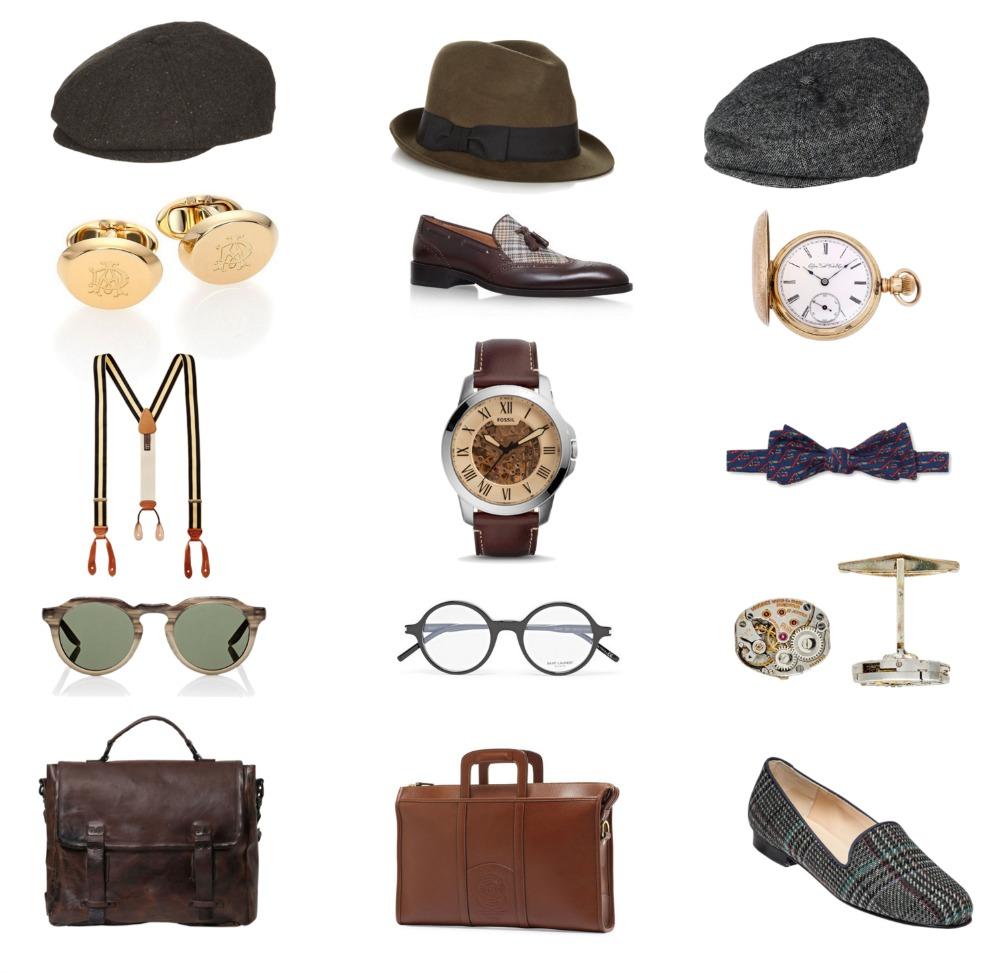Vintage Style / Vintage Current Style Board / Men's Vintage Style